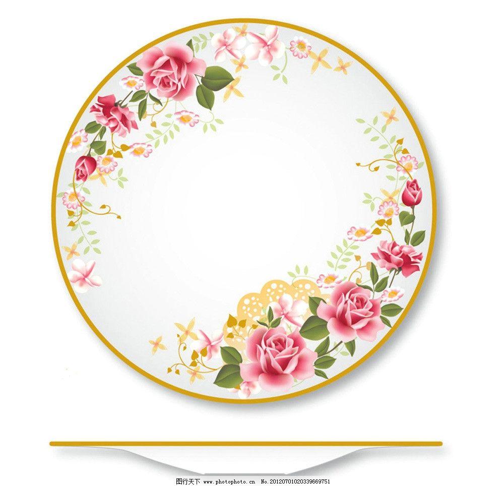 陶瓷花纸设计图片