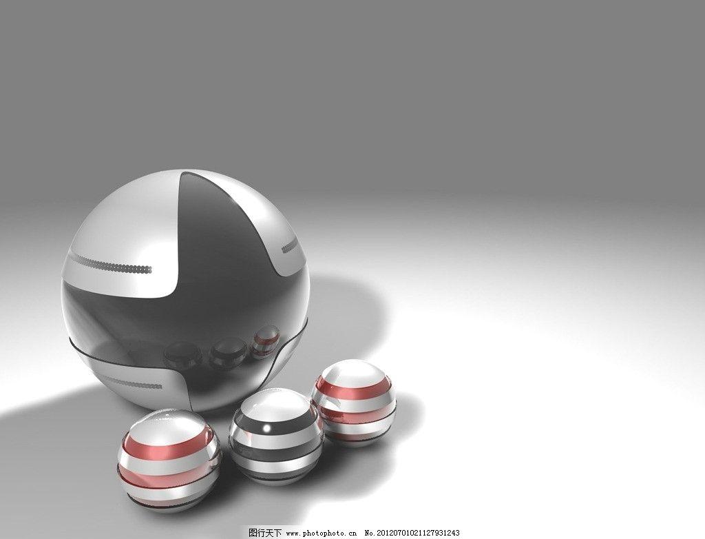 底纹边框 设计 立体 彩球