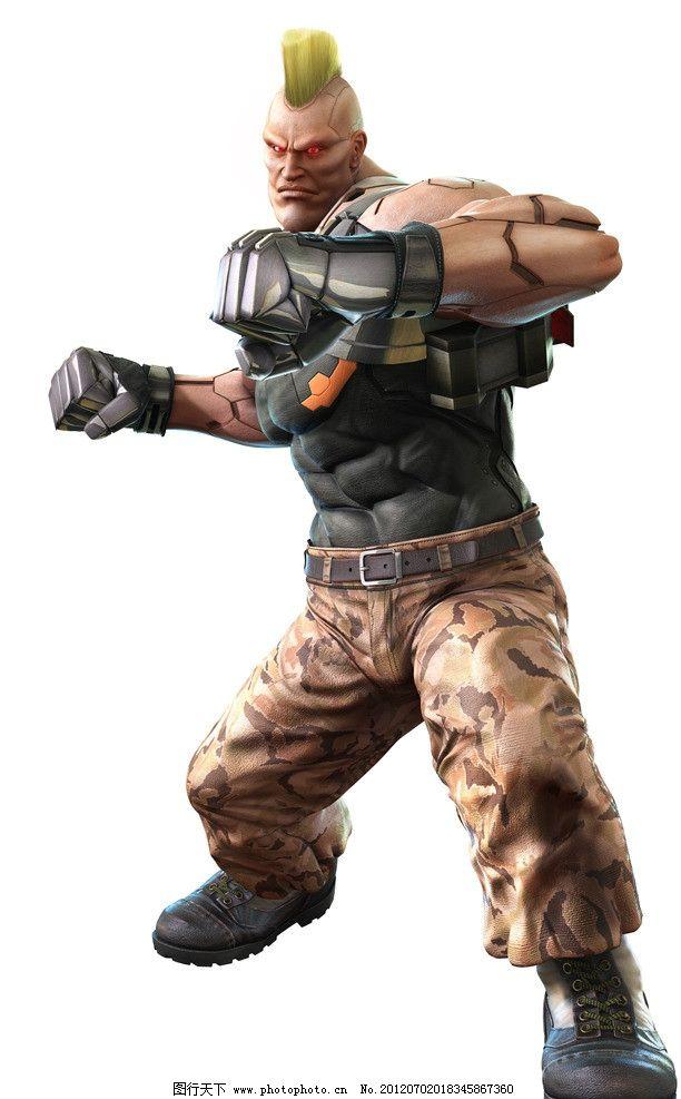 铁拳 格斗 游戏 原画 人物 动漫人物 动漫动画 设计 铁拳人物 72dpi