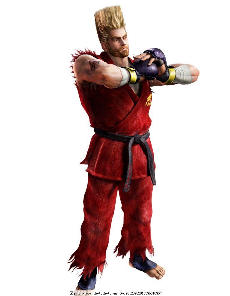 铁拳 格斗 游戏 原画 人物 动漫人物 动漫动画 设计 铁拳人物 28dpi