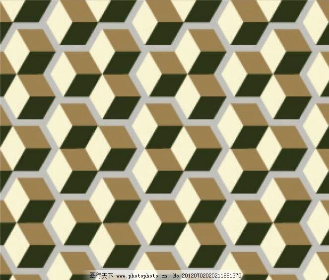 立体正方形背景图片