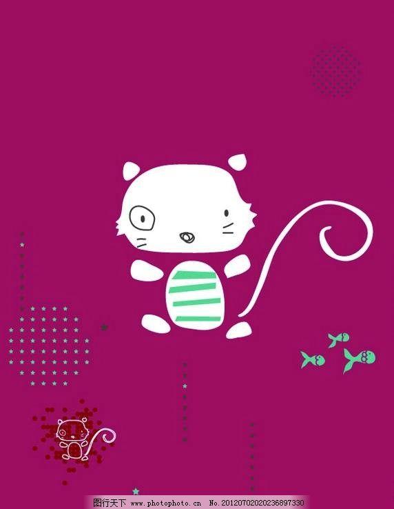 卡通可爱小猫图片大全 小萌猫图片可爱卡通小猫头