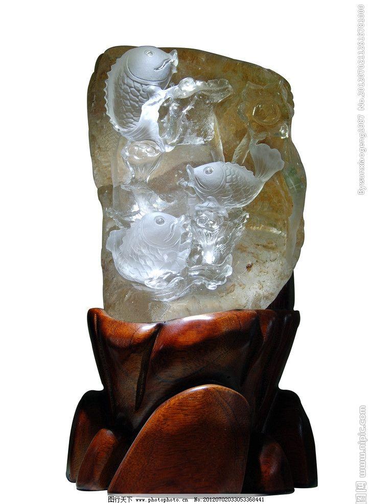 水晶雕刻件图片