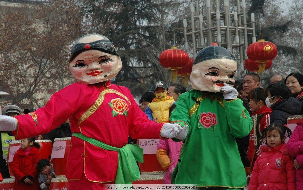 春节民俗图片_树木树叶_生物世界_图行天下图库