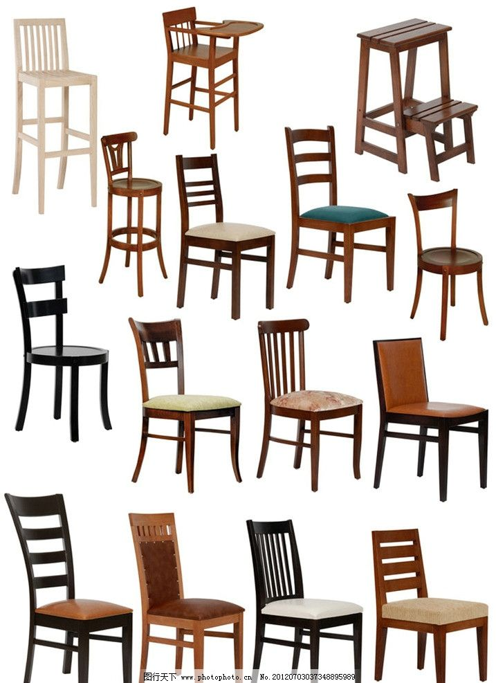 15款欧式椅子 高清图片 图片素材 摄影图片 木椅 凳子 家具电器