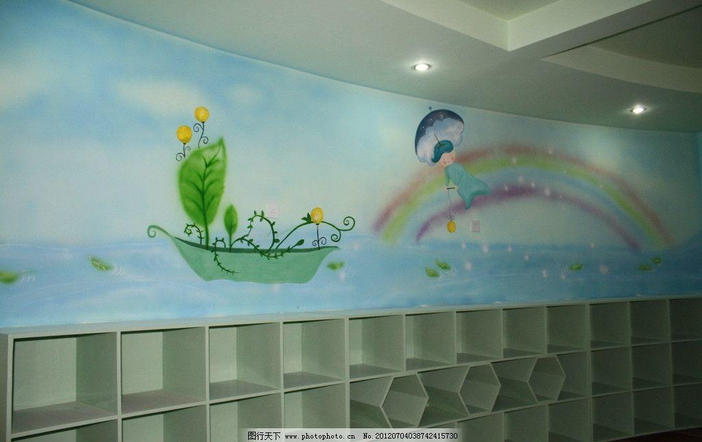 幼儿园墙绘 幼儿园 墙绘 手绘墙 儿童房 美术绘画 文化艺术 摄影 72dp