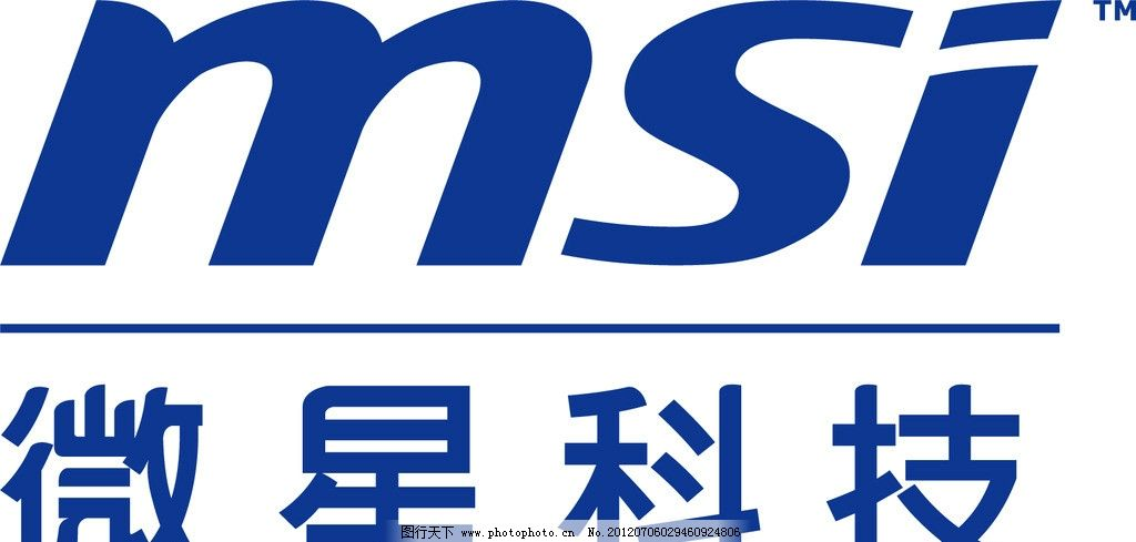微星科技标志图片_logo设计_广告设计_图行天下图库