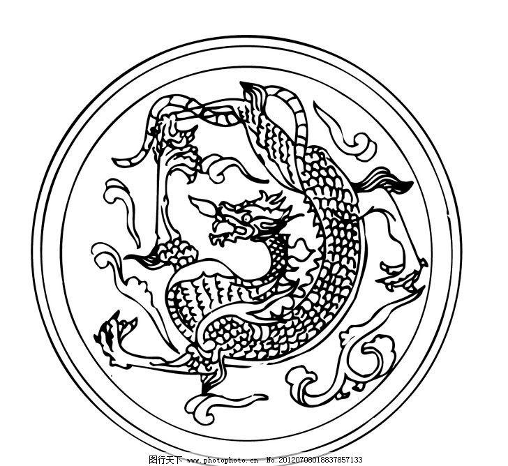 刺绣 古代 中国 传统 文化 图案 花纹 传统文化 文化艺术 矢量 ai
