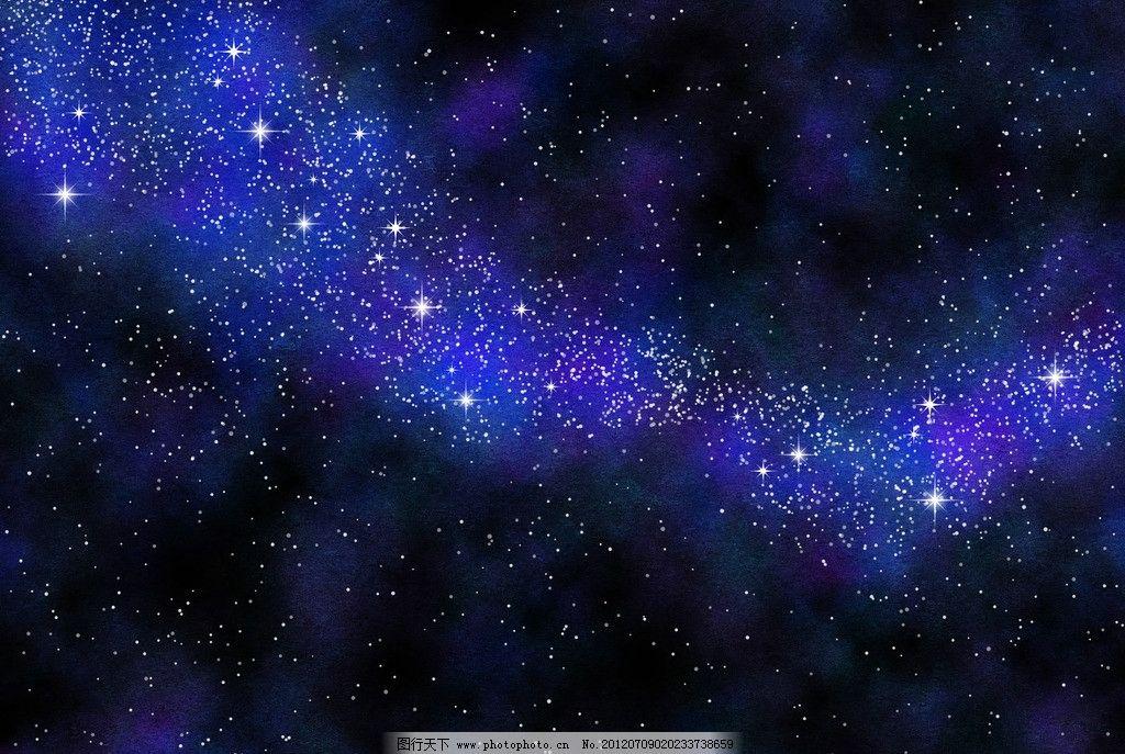 星空 银河 梦幻 夜景 夜色