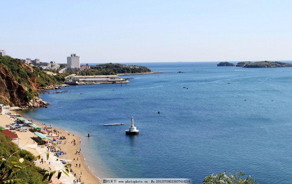 大连风景 大海 蓝天 海岛 帆船 国内旅游 旅游摄影