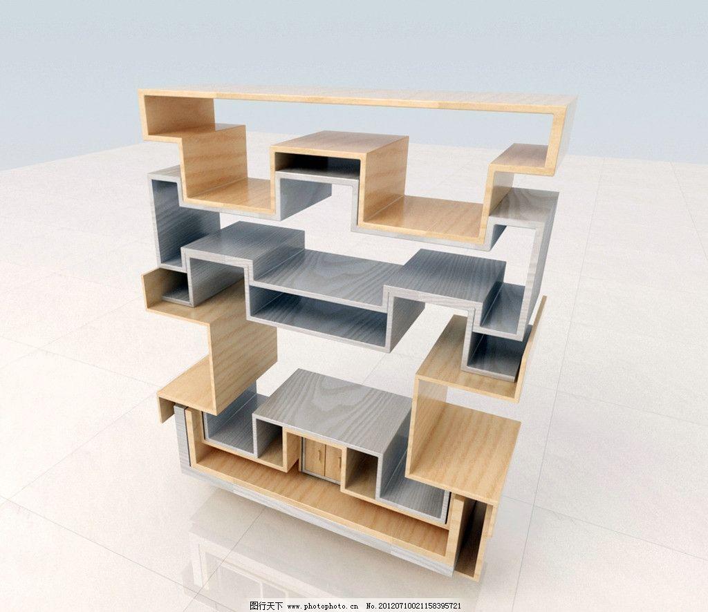 多功能组合家具 多功能 组合 家具 柜子 3d作品 3d设计 设计 72dpi
