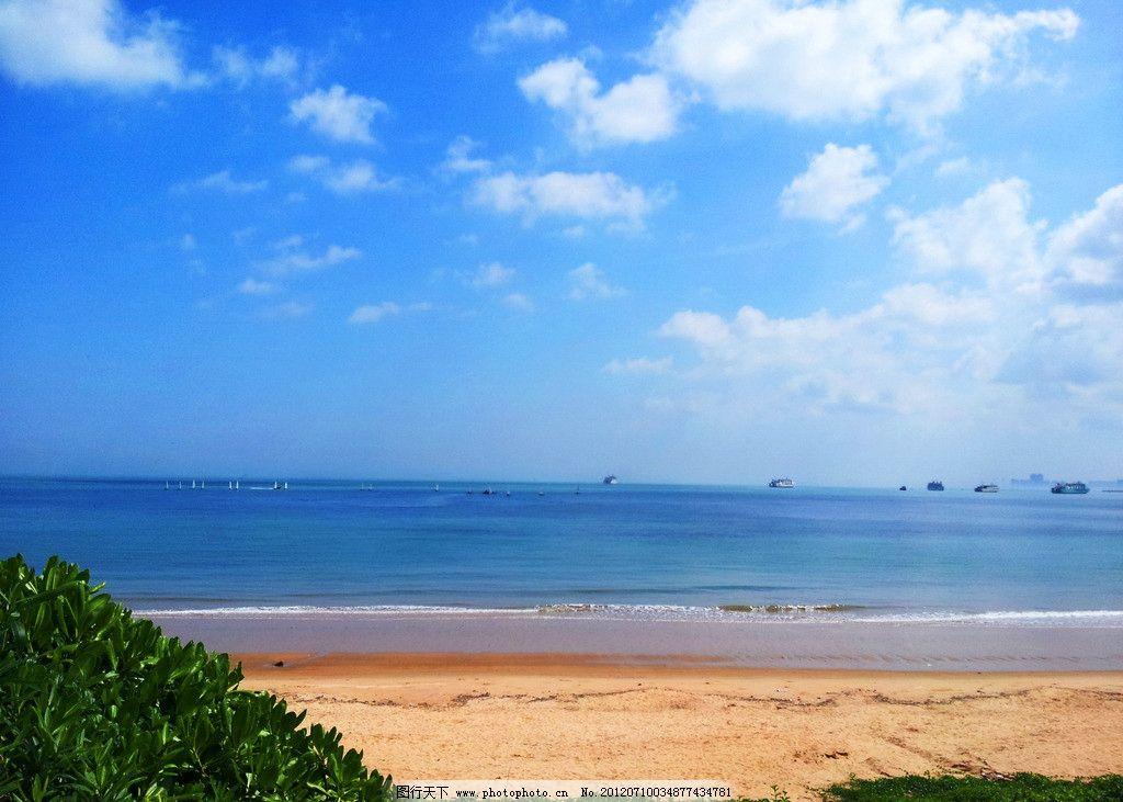 海口沙滩 海口 沙滩 椰风海韵 大海 海南 风景 自然风景 自然景观