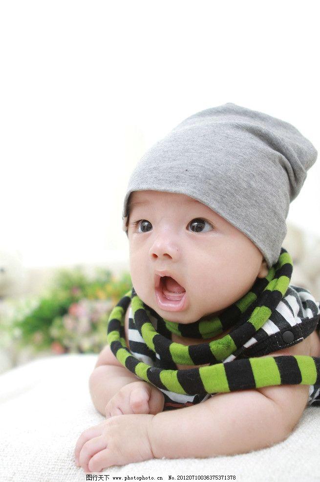 宝宝 可爱宝宝 婴儿 百日照 幼儿 人物摄影 人物图库 摄影 72dpi jpg