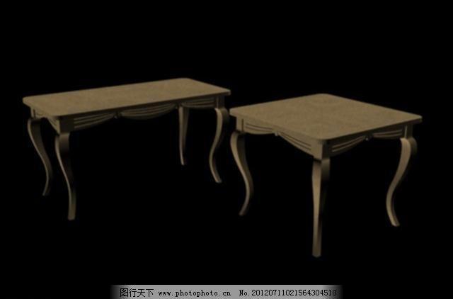 朴素 室内模型 现代 源文件 桌子3d模型 欧式 现代 简约 朴素 桌子 3d