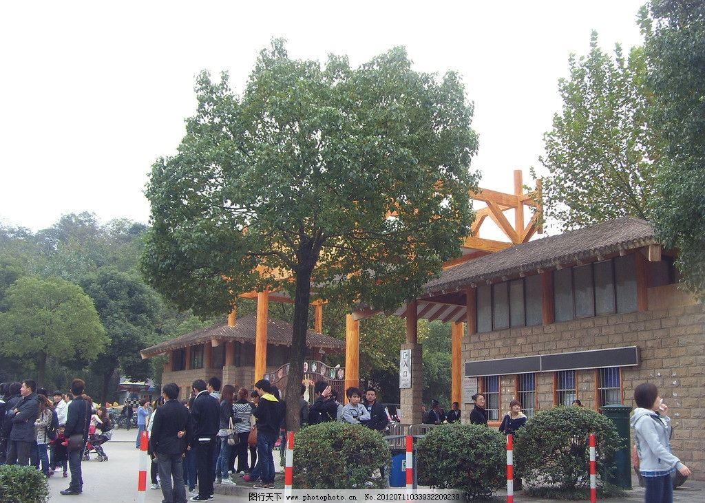 动物园 红山森林动物园 江苏动物园 旅游 游览 入口 动物园入口 国内