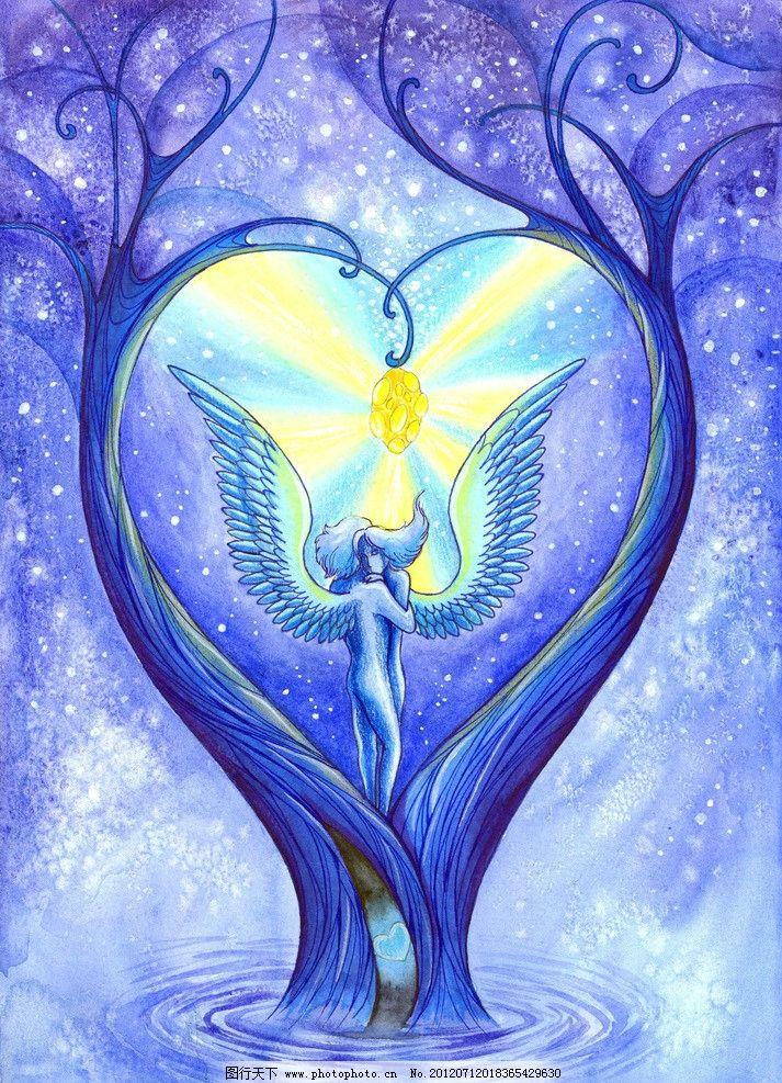动漫手绘天使图片