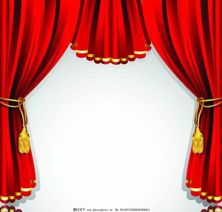 舞台幕布背景图片_背景底纹_底纹边框_图行天下图库