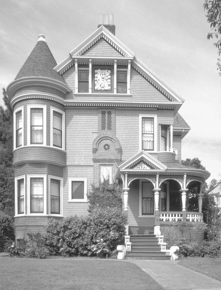 建筑园林 欧式 欧式别墅 摄影 欧式别墅图片素材下载 欧式别墅 黑白画