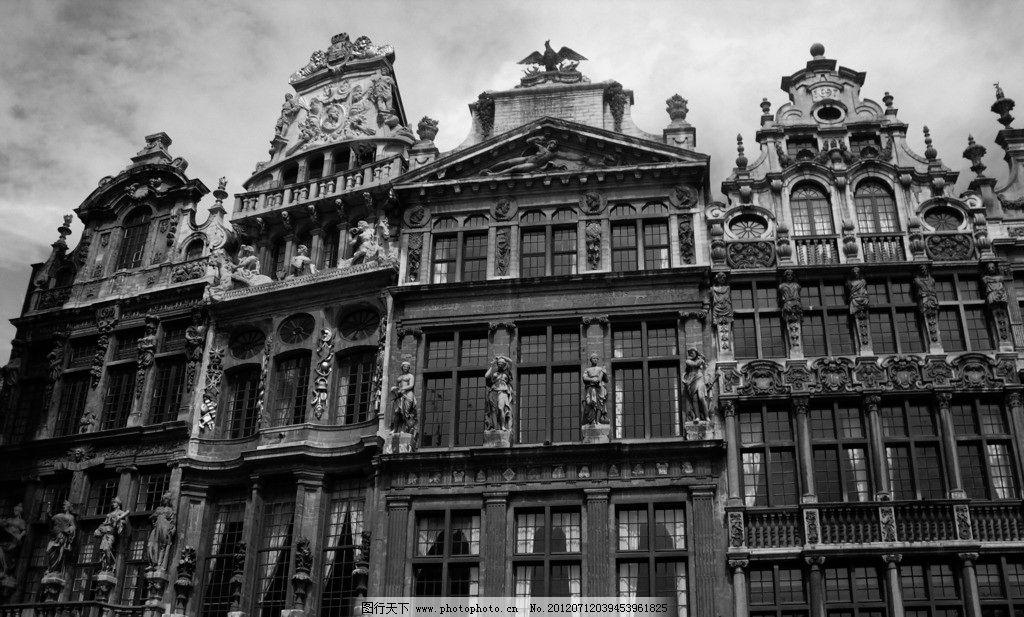 欧式建筑多用浮雕图案