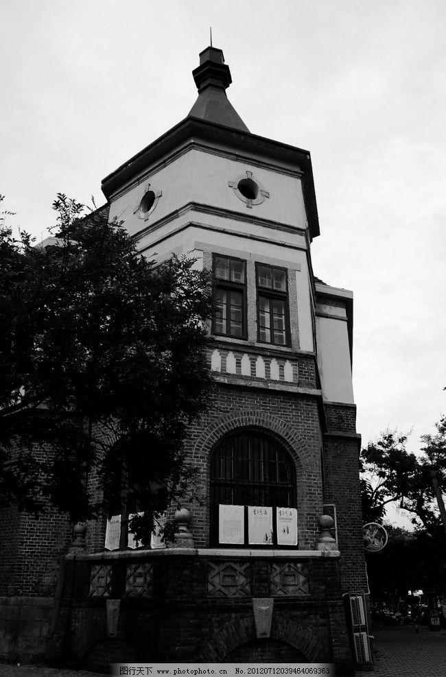 别墅 欧式别墅 简欧别墅 房子 建筑 现代建筑 现代别墅 黑白画 装饰画