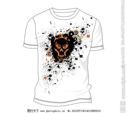 动物涂鸦图案t恤图片