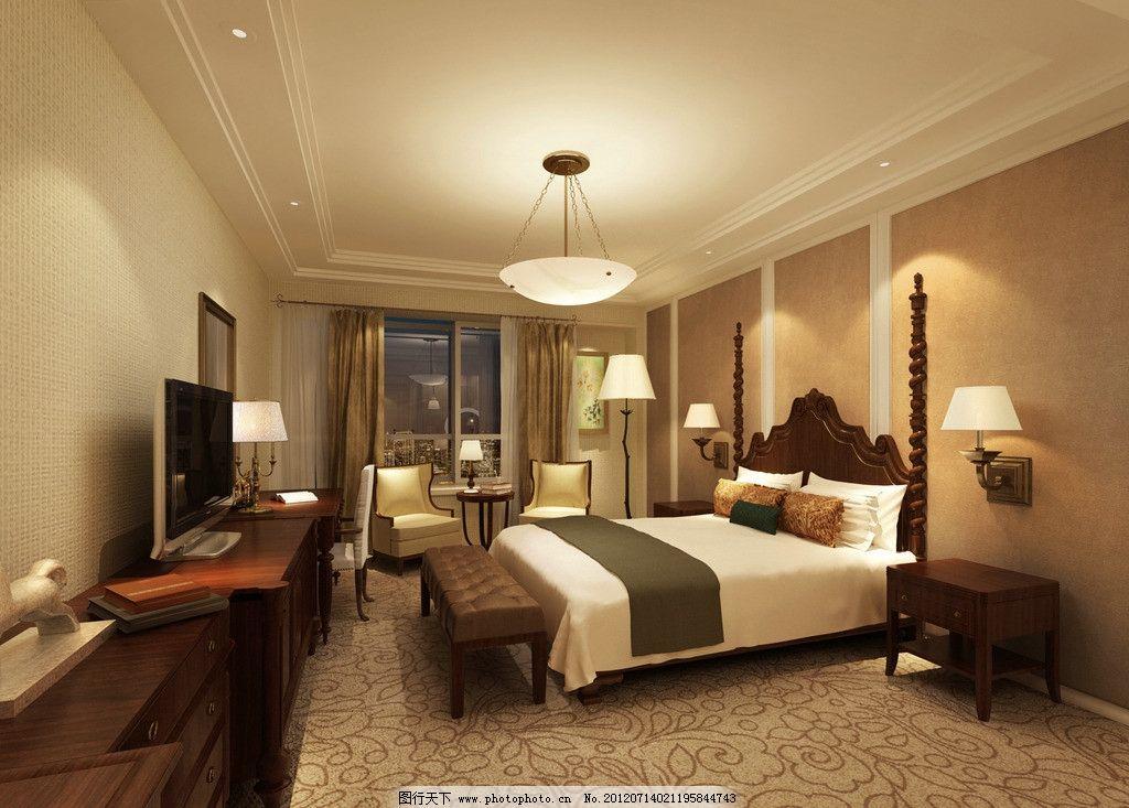 中式卧室 后现代 欧式家装 室内图片 建筑 室内设计 室内模型 3d设计