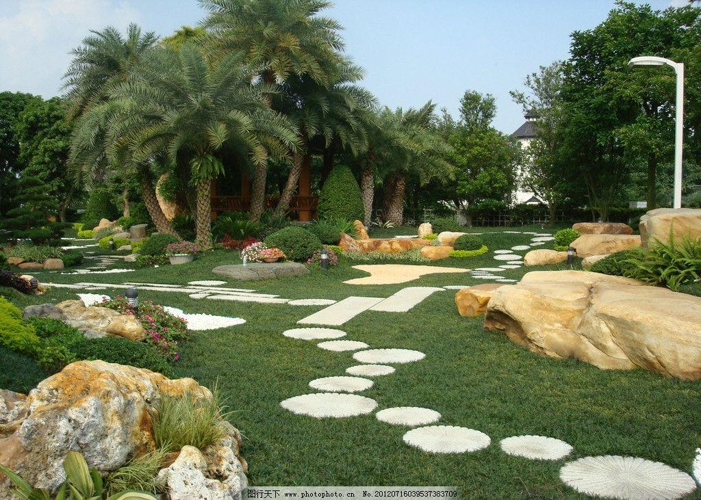 园林景观 园林绿化 园林景石 现代园林 花草 树木 人文景观 植物 庭院
