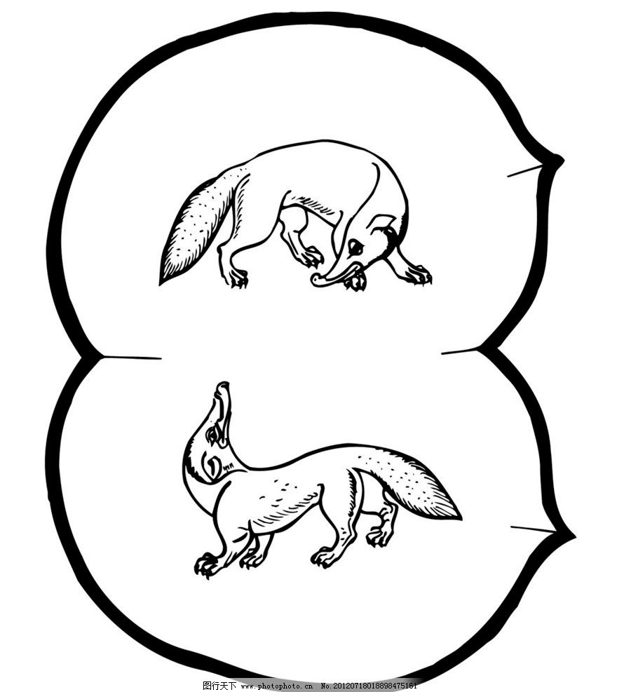 刺绣 动物 神兽图片