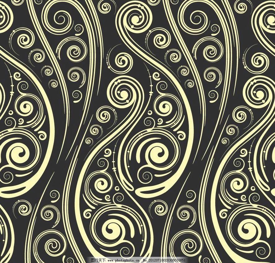 线条古典花纹 欧式花纹 欧式 古典 花纹 花边 卡片 古典花纹 时尚花纹