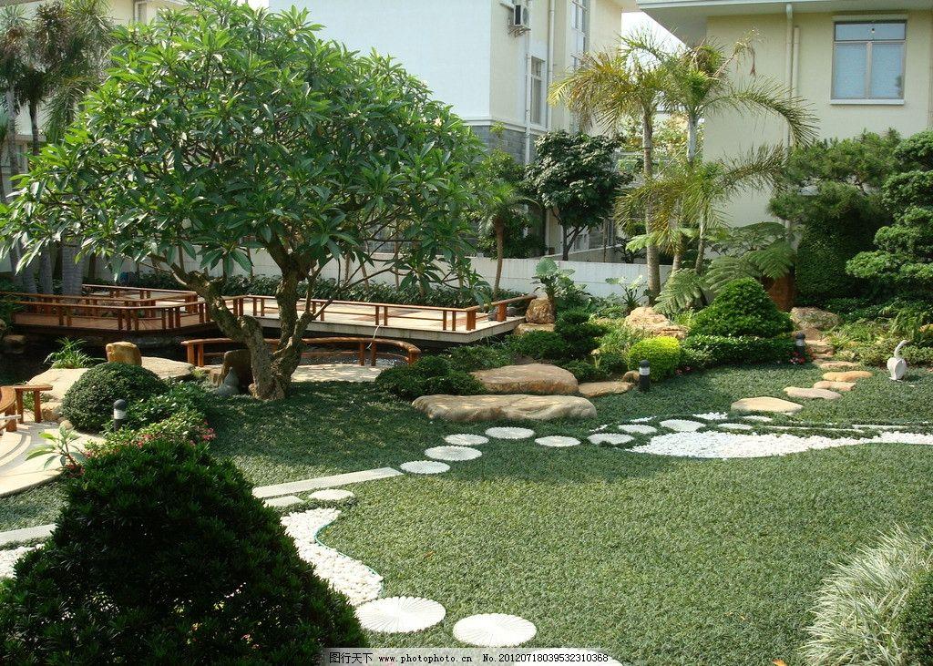 别墅园林 花园摄影 园林小品 园林景观 园林绿化 造树 园林景石 现代
