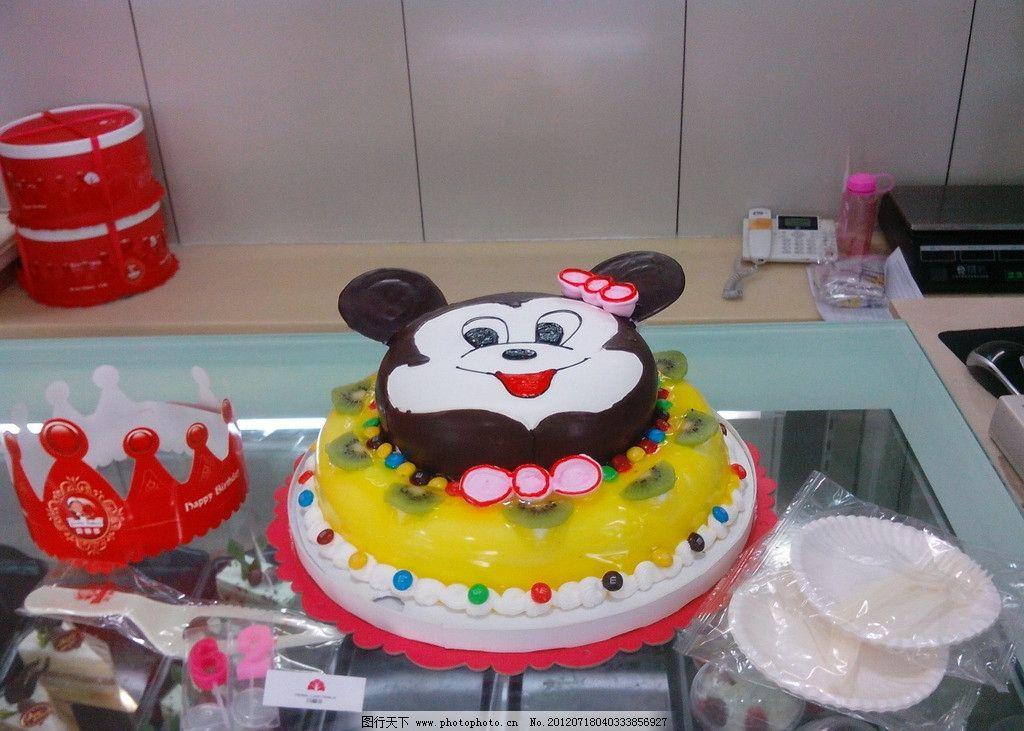 可爱儿童蛋糕图片