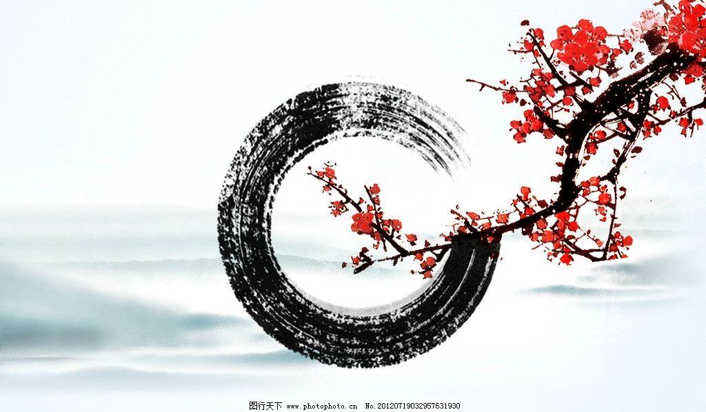 江南 江南水墨 水墨江南 水印 墨迹 唯美水墨 中国文化 中国传统素材图片