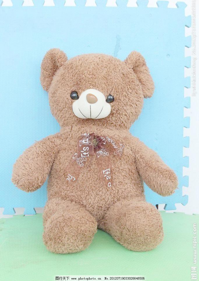 可爱的小熊摄影图图片素材下载 可爱的小熊摄影图 玩具 小熊 布娃娃
