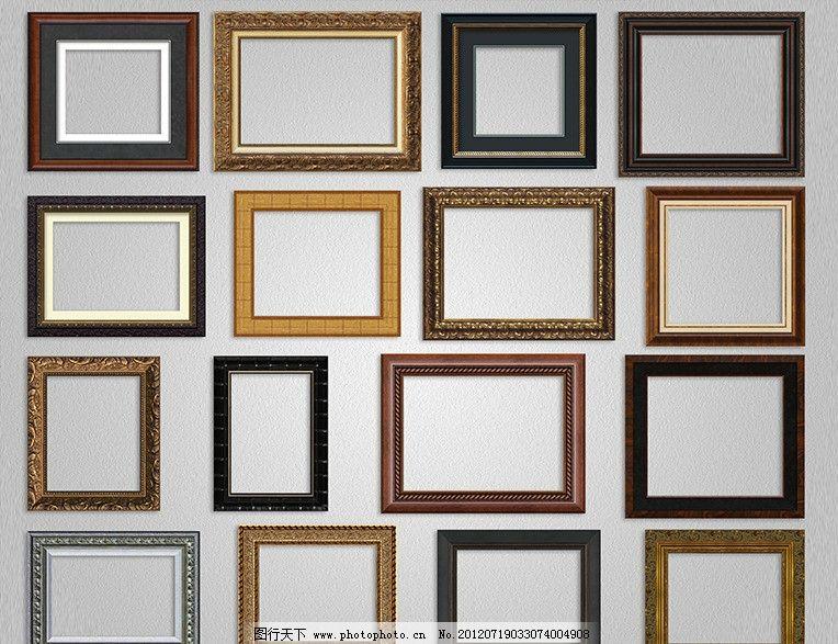 金属画框 装饰画框 艺术画框 花纹画框 木雕画框 花边画框 雕花画框 p
