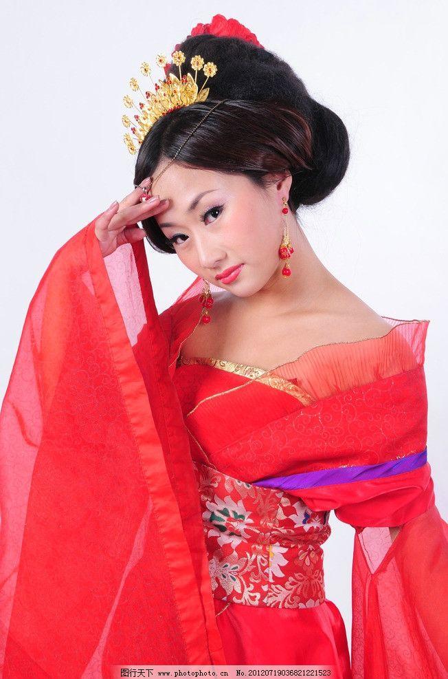 大唐美女艺术写真 大唐美女 唐装风格 艺术写真 中国风 女性女人 人物