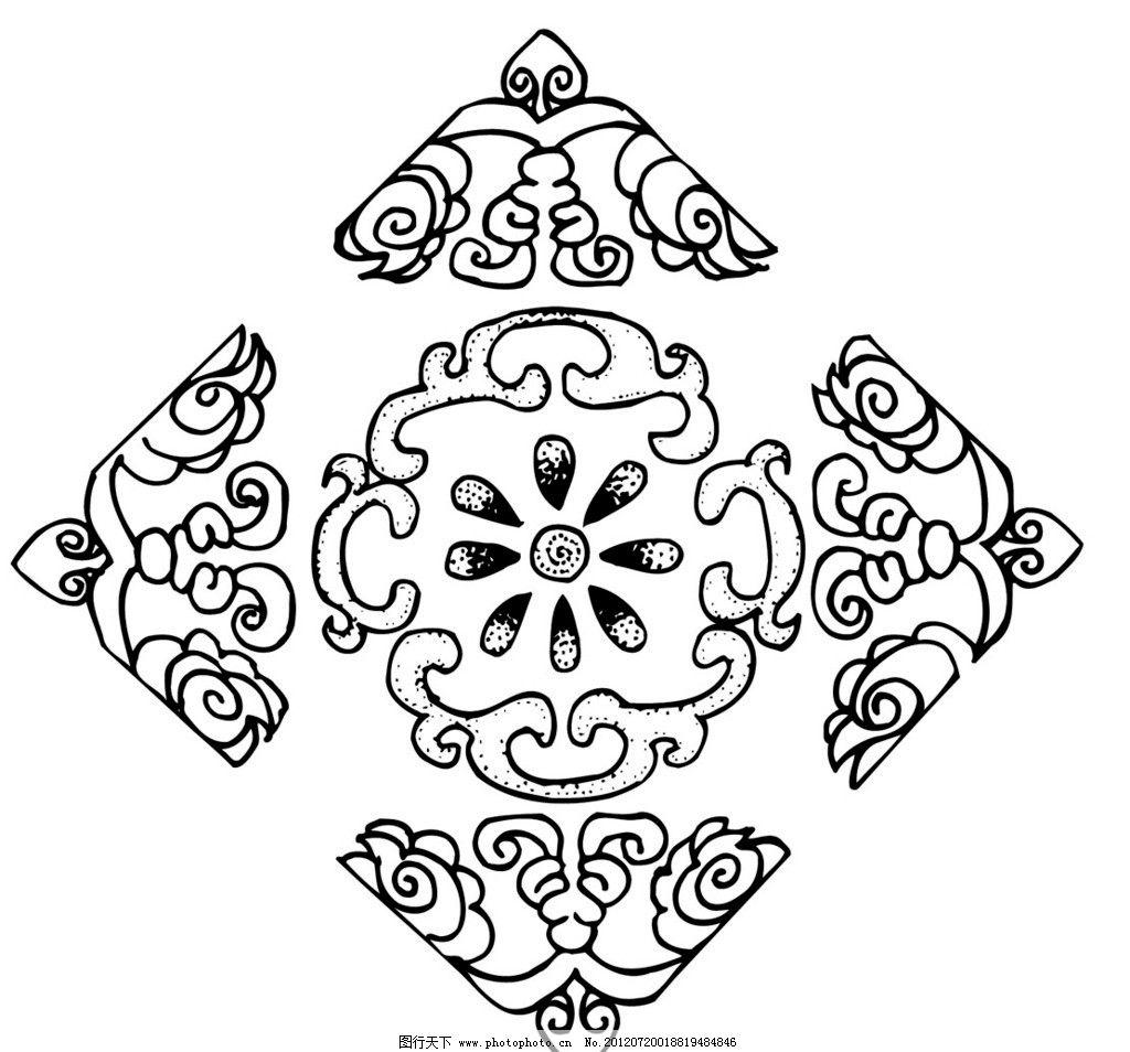 刺绣 花纹 古代 中国 传统 文化 图案 矢量 花 传统文化 文化艺术 ai
