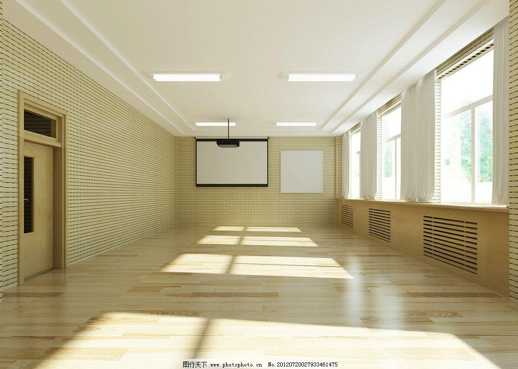 录课教室 学校录课室效果图        室内设计 学校 教室设计 环境设计图片
