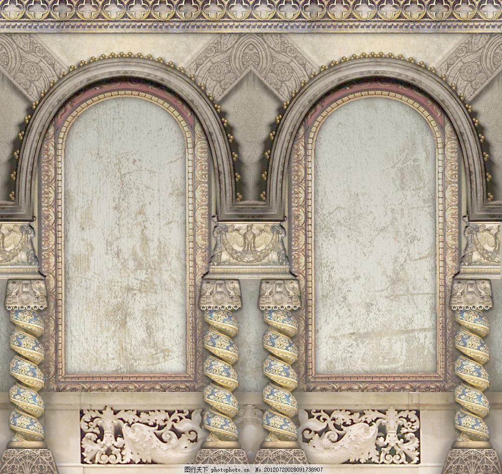欧式门窗图片