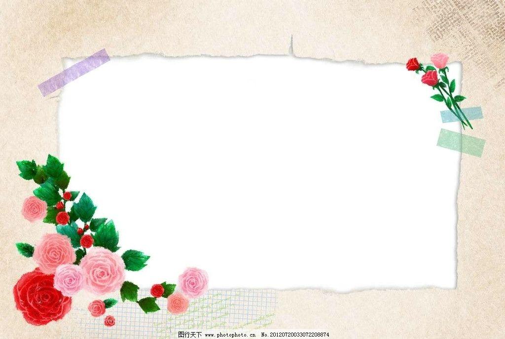 花瓣植物背景图片