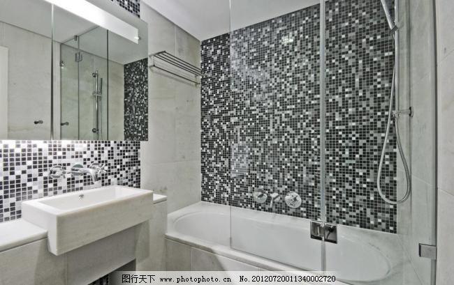 浴室图片免费下载 300dpi jpg 厕所 瓷砖 建筑园林 欧式浴室 摄影