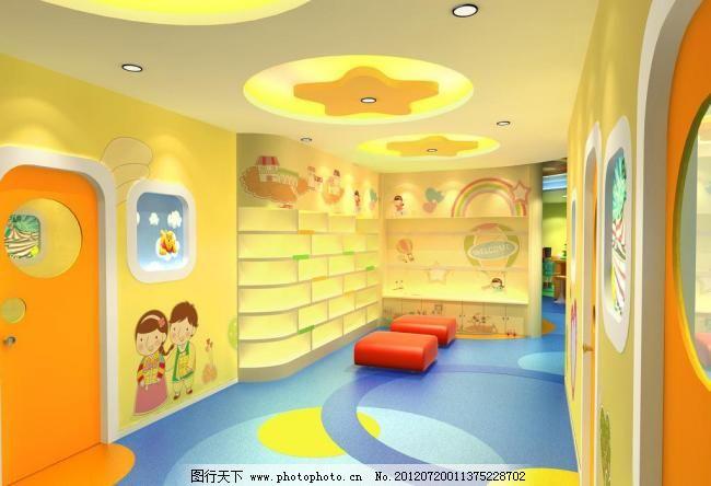 兒童 環境設計 卡通 可愛 設計 室內設計 室內裝飾 聰明樹幼兒早教