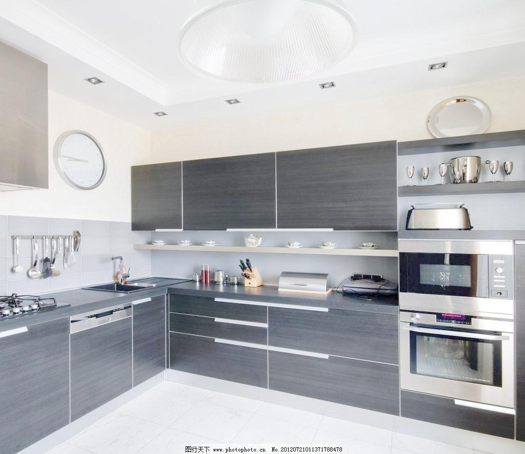 室内摄影 现代厨房 样板 现代厨房图片素材下载 现代厨房      欧式