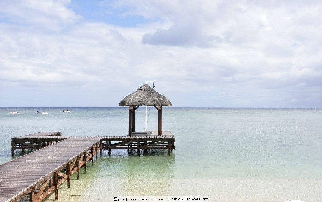东南亚风景 马尔代夫 海边 东南亚 木桥 旅游 幽静 人文景观 旅游摄影