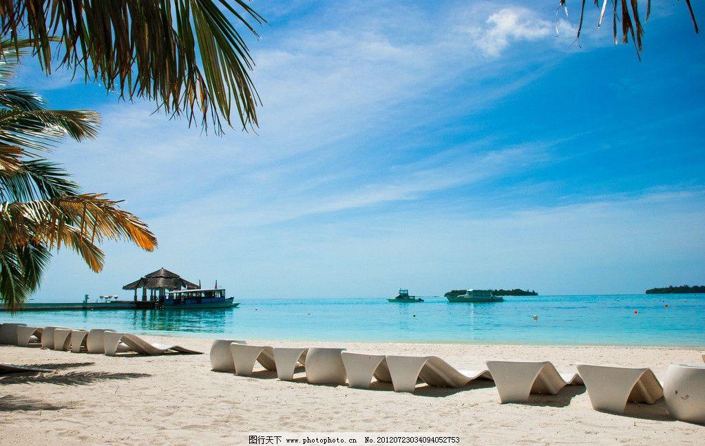 马尔代夫的海边图片