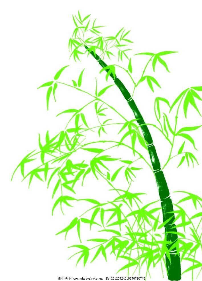 彩铅竹子简易画法步骤
