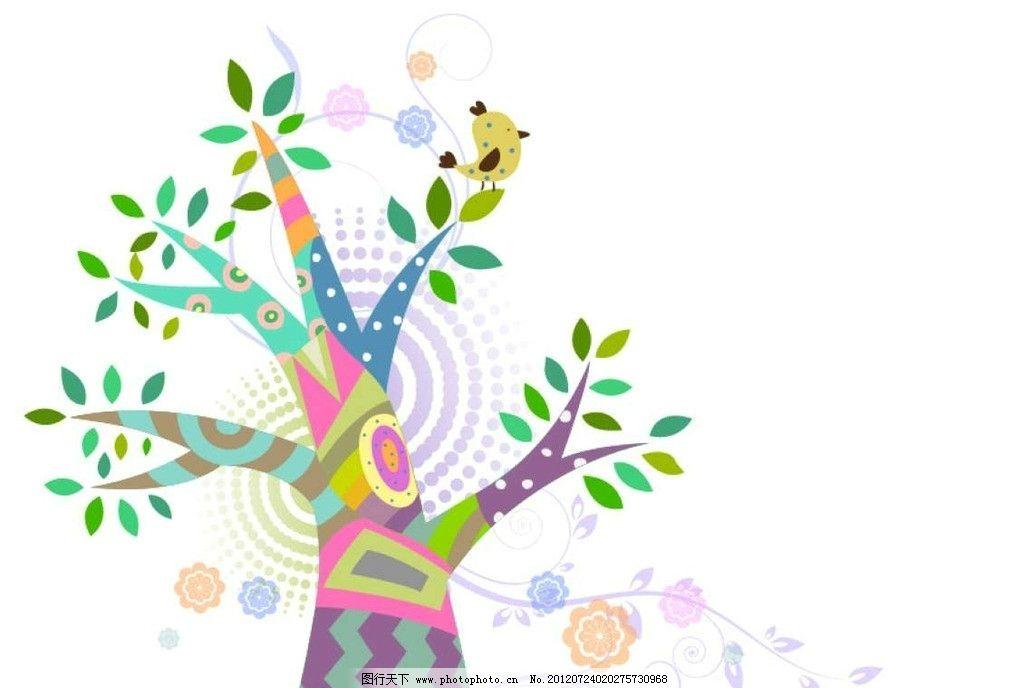 大树树木背景图片