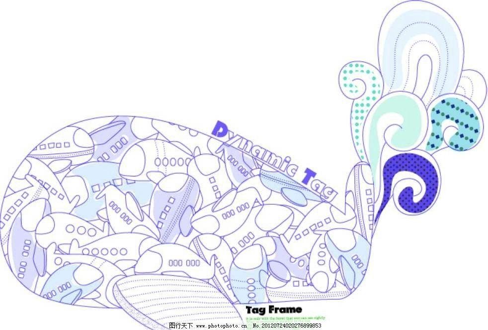 卡通抽象飞机背景图片_背景底纹_底纹边框_图行天下