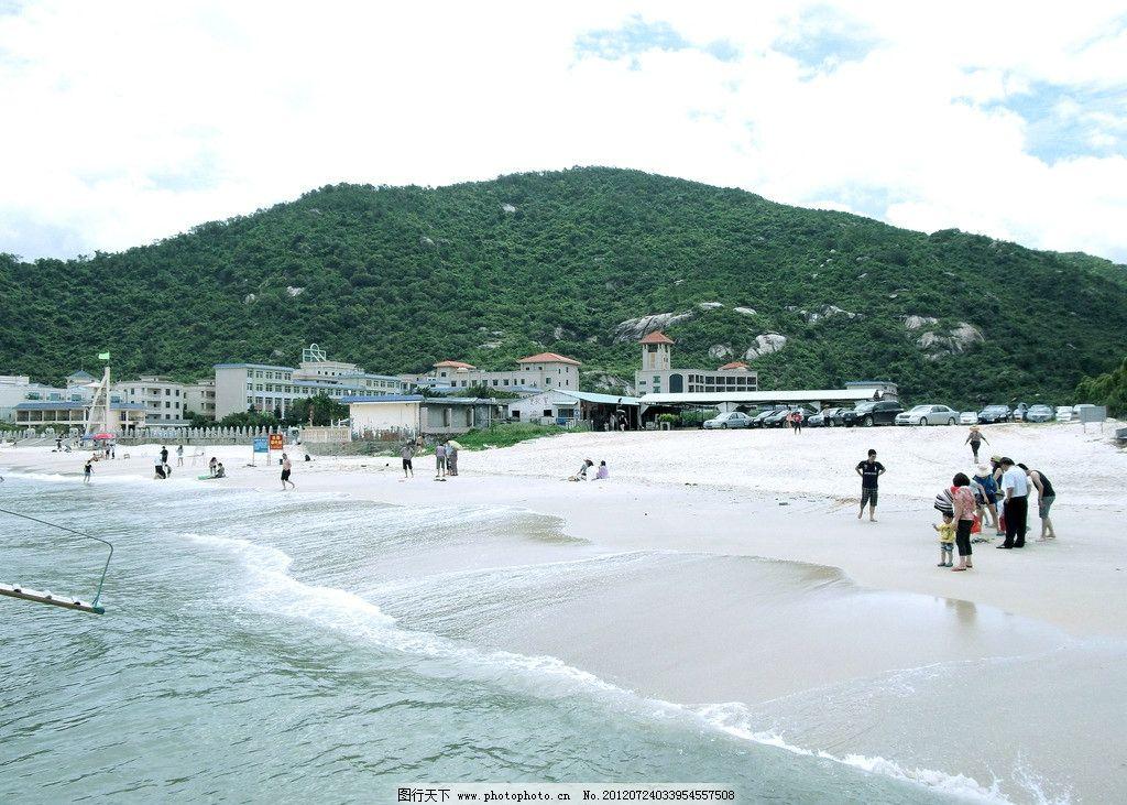 海滩沙滩 海滩 沙滩 惠州巽寮湾 海边 大海 风景 贝壳 国内旅游 旅游