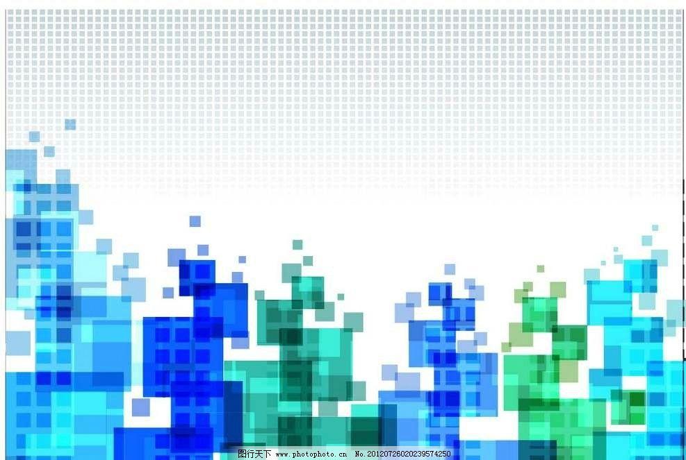 抽象方块图形 抽象 方块 正方形 设计 线条 花纹 条纹 花样 卡通 漫画