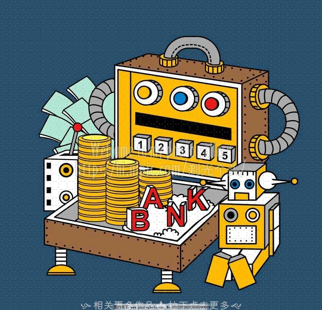 机械 卡通机械